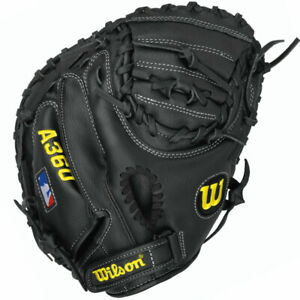 Wilson A360 Baseball Youth Catchers Mitt 31.5 Inches Right Hand Throw