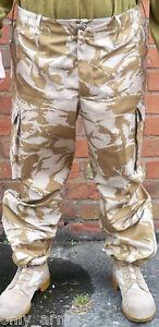 British Army Desert DPM Windproof Combat Trouser ALL SIZES SAS Para Genuine