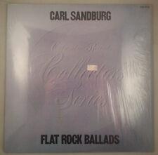 Flat Rock Ballads Sung & Played by Carl Sandburg/Columbia Stereo NM