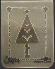 Sizzix cartella goffratura piccola Albero di Natale #4 si adatta cuttlebug big shot wizard