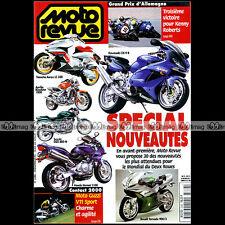 MOTO REVUE N°3386 GUZZI V11 S SPORT YAMAHA TT 250 R MUZ 660 GP SACHSENRING 1999