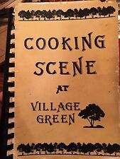COOKING SCENE AT VILLAGE GREEN COOK BOOK- VERONA BEACH FL - GREAT RECIPES!