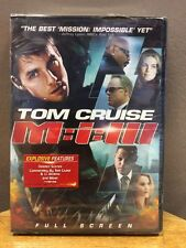Mission: Impossible III (DVD, 2006, Single Disc; Full Screen) New/Sealed!!!