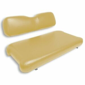 EZGO TXT 1996-2013 Front Seat Replacement Assembly No Wood (Tan)