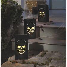 Halloween Boneyard Luminary Bags 6 Bags Party Favor Decoration