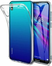 Cover case soft silicone gel tpu transparent for huawei y5 2019