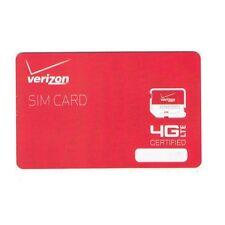 Verizon 4G LTE Micro Sim Card 3FF Droid Razr Samsung Stratosphere Galaxy Nexus