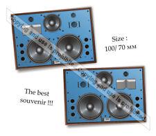 Fridge Magnet! Pair Speakers Jbl 4350