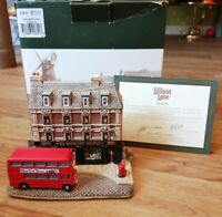 LILLIPUT LANE THE SHERLOCK HOLMES MINT CONDITION L2611 BOXED & DEEDS 2002 RARE