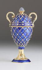 Faberge Ei  von Keren Kopal mit oesterreichischen Kristallen vergolde