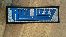 SMALL Thin Lizzy silver logo vintage music patch Sew On aufnaher rare rock