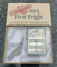 More details for zippo, 1903 first fright, 90th anniversary, ltd edition ((extremely rare))