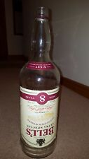 Large empty Bells whisky bottle 4.5 litres