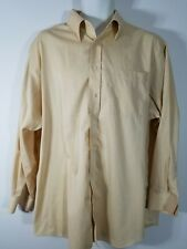 ENRO Non Iron Ezcool Long Sleeve Button Down Shirt Size Mens 17 34-35