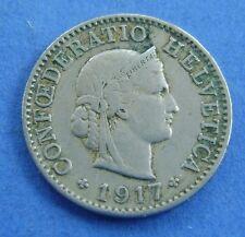 Zwitserland - Switzerland  5 Rappen 1917 KM# 26