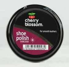 Cherry Blossom Oxblood Shoe Polish Paste 50ml - Smooth Leathers
