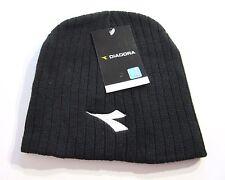 Black Beanie Hat Mens Diadora Product BNWT