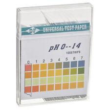 Wassertest für pH-Wert von 0 - 14 (100 Stück) pH Teststreifen Wasseranalyse