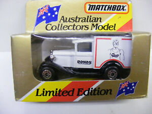 Matchbox Superfast MB38 Ford Model A Chesty Bonds