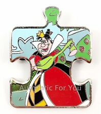 New Disney Parks Alice in Wonderland Queen Of Hearts Mystery Puzzle Pin Le 1100