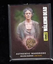 Walking Dead season 4 part 1 Autentic Wardrobe Melissa McBride card  # M15