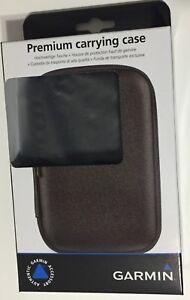 "OEM Genuine Garmin Zumo Aera GPS Hard Zipper Case 010-11270-00 5"" Carry Case NIB"