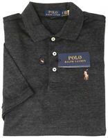 Polo Ralph Lauren Black Short Sleeve Shirt Mens Classic Fit Cotton NWT NEW $89