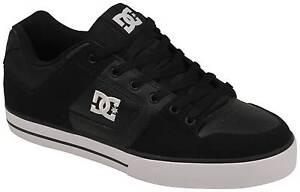 DC Pure Shoe - Black / Black / White - New