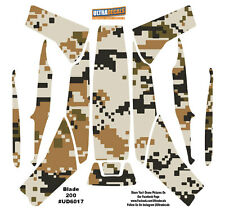 Ultradecal Blade 200 QX Body Graphic Camouflage Wrap Decal Skinz Vinyl