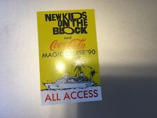 New Kids on the Block - Magic Cruise 1990 - All Access Pass