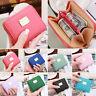 Women Soft Leather Clutch Small Card Purse Handbag Coin Case Zip Mini Wallet