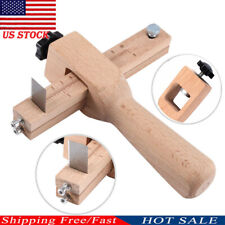 Us Wood Adjustable Strip and Strap Cutter Craft Tool Leather Hand Cutting Tools