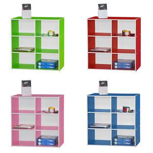 3-Tier Bookcase Display Shelves Storage Unit Bookshelf Organizer Kids Home Offic
