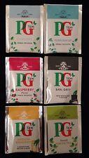 """""""PG Tips"""" Selección Pack 6 diferentes Envuelto Bolsitas De Té"""