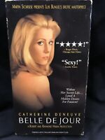 Belle de Jour (VHS, 1995) French With English Sub. Rare Copy