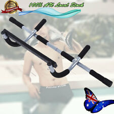 Portable Chin Up Bar Home Doorway Wall Mounted Pull Up Dip Abs Training AU POST