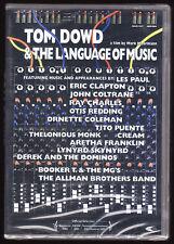 TOM DOWD & THE LANGUAGE OF MUSIC - MARK MOORMANN - 160 MINS - NEW SEALED R2 DVD
