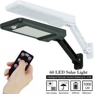 60 LED Lampe Solaire de Extérieure étanche Lumières applique murale solaire IP65