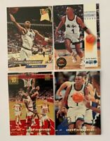 ANFERNEE HARDAWAY ROOKIE LOT 1993-94 Skybox, Fleer Ultra and Topps Stadium Club