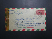 Mexico 1943 Censor Airmail Cover to USA (III) - Z12041