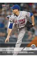 2018 Topps NOW MLB 594 NEW YORK METS Jacob DeGrom RARE print run 683