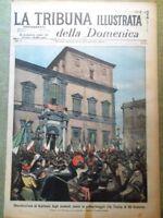 La Tribuna Illustrata 24 Marzo 1901 Firenze Salerno Quirinale Pietro Bimbo Adua