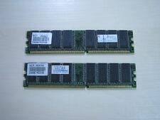 NCP DDR1 512MB (2 X 256MB) PC2100 266MHz 184pin Memory TEST OK!