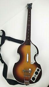 Harmonix Xbox 360 RockBand Beatles Hofner Bass Wireless Guitar Model XBGTS3