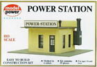 Model Power 443 HO Scale Power Station Building Kit HH