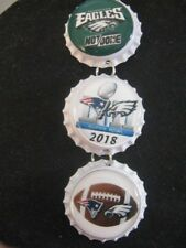 "1"" Bottle Cap Image R/View Mirror ~ Handcrafted ~ **Gift Idea ~ Super Bowl"