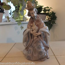 LLADRO NATIVITY KING GASPAR 1424 LOOK  MINT CONDITION with BOX FAST SHIPPING