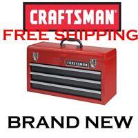 New CRAFTSMAN 3 Drawer Portable Tool Chest Organizer Box Cabinet Storage Toolbox