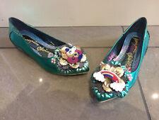 Irregular Choice 'Little Lady daisy' (A) Unicorn + Rainbow Slip On Flat Shoes