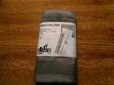 Ikea Saltgrund 71x71 Inch Shower 100 Polyester Curtain Gray 60203330